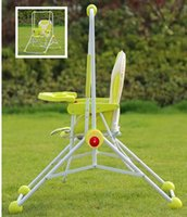 Wholesale Drop Shipping Cheap Baby Swing Multi purpose Steel Dining Chair Indoor Outdoor Foldable Baby Rock Chair Red Blue Green