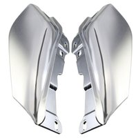 air deflectors - Top Selling High Standard New Chrome ABS Air Deflectors Touring Road Street Glide Motorcycle Accessories