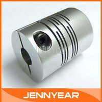 beam coupler - 50PCS mm to mm Flexible Beam Coupling Inch x8mm Motor Helical Setscrew Shaft Coupler Diameter mm Length mm