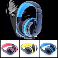Wholesale New Original MX666 Stereo Bluetooth Gaming headset Wireless With MIC Support Hands free TF Card FM Radio for Smartphones