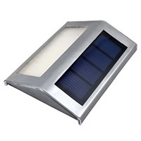 Wholesale Hot Sale New LED Stainless Steel Solar Garden Lights Stair Lights Fence Wall Lights