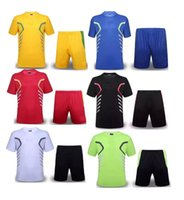 Cheap wholesale 2015-2016 Training suits team sports kit Uniforms soccer jersey thai quality 2015-2016 customize soccer football jersey set