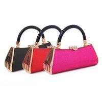 ladies fashion evening bags - New Fashion Rhinestone Evening Clutch Bags Evening Bag With Satin Inner Designers Handbag Ladies Party Clutch Purse