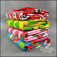 Wholesale ADO children knitted baby cartoon picnic mat moisture proof crawling mat outdoor beach styles