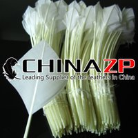 arrow suppliers - Leading Supplier CHINAZP Crafts Factory cm inch Unique Handwork Trimed Arrow Shaped White Turkey Rounds Quill Feathers