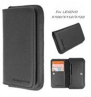 Cheap New Arrivals Leather Cases Lenovo K900 K910 K920 K80 K860 Smartphone Universal luxury Wallet Flip mobile Cell phone covers