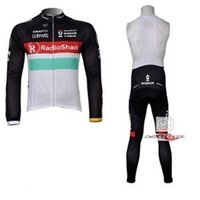 bicycle shack - 2015new kindRadio Shack factory bib long sleeve cycling jerseys wear clothes bicycle bike riding jerseys bib pants