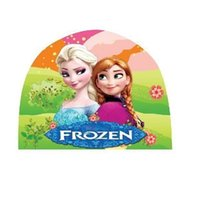 Wholesale Frozen Children Swimming Cap Car Cartoon Caps Cloth Caps For Swimming Caps Hats Spiderman Children Swimming Hats Kids Swimming Caps MC
