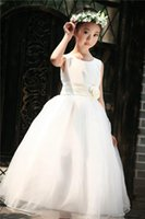 girls dress - Girls Princess Long Dress Children Wedding Dresses Girls lace Dress size