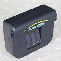Wholesale Piece High Quality New Solar Powered Energy Car Auto Cool Cooling Cooler Fan Air Vent Ventilation