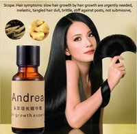 Wholesale fast deliver Andrea Hair Growth Essence Hair Loss Treatment ginger raise dense hair Professional Salon Hairstyle Anti Hair Loss dense