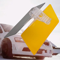 Wholesale Wavors UV Fold Flip Down Auto Car Sun Visor Blocker HD Clear View Visor Accessory