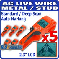 Wholesale 5pcs quot Large LCD Display Cable Wire Wood Stud Metal Voltage Detector Finder