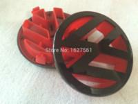 abs club - Car styling Black Red vw emblem front golf For vw golf GTI vw polo new polo golf club belt buckle