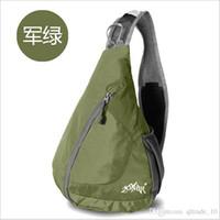 Wholesale 2015 UNIsex color Leisure travel shoulder bag backpacks Messenger bag outdoor sport backpacks Camping Crossbody bag Chest Bag TOPB3187