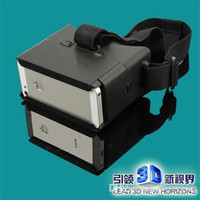 Wholesale 2015 Factory VR Virtual Reality Google D Cardboard D Glasses Google VR Virtual Screen D Glasses