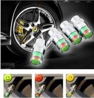 air pressure valve caps - Car Styling bar PSI Car Tyre Tire Pressure Valve Stem Caps Sensor Color Eye Air Alert tire pressure Indicator