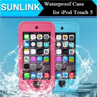 Wholesale Redpepper Waterproof Shockproof Dirt Snow proof Case Outdoor Hard Stand Cover for Apple iPod Touch th Gen with Retail Package
