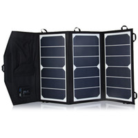 android solar panel - 20W High Efficiency Sunpower Solar Charger Pack Foldable Portable Solar Panel Charger Pack for ipad iPhone Samsung Android Device