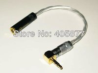 amp headphone jack - 3 mm Stereo Jack Audio Cable Silver for Headphone Amp Phone Head Fi cable