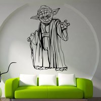 abstract carving - Star Wars figures carved d wall wall stickers living room bedroom wall stickers home decor wall paper