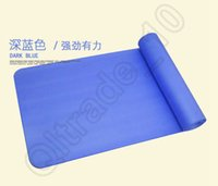 Wholesale 50PCS LJJH1239 Yoga Mat cm Thick Exercise Non slip Pad Gym Lose Weight Durable Fitness Thickening non slip mats