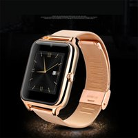 android phone gsm - Bluetooth Smartwatch Z50 Intelligent Clock Phone with Metal Frame GSM SIM TF Card Camera Antilost for iphone Samsung S7 Free Belt Battery