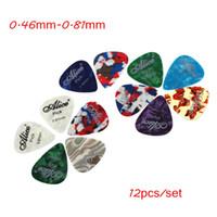 Wholesale Alice mm mm Guitar Picks Guitar Plectrums set Celluloid Picks Guitar Parts Accessories