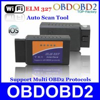 accord tools - Hot Selling OBD OBD II WiFi ELM Scan Tool Diagnose For Multi Brand Cars Support IOS Android ELM327 WiFi Diagnostic Tool