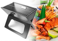 charcoal grill - Outdoor Portable Barbecue Stove Charcoal X shape BBQ Grill