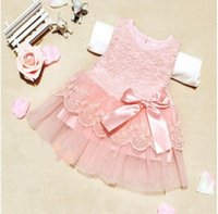 aristocrat style - Summer style hot summer baby dress baby girl dress aristocrat cotton lace bow dress for years