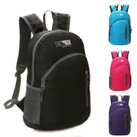 Wholesale Waterproof Foldable Bicycle Backpack Outdoor Sport Women Men Small Camping Backpack Hiking Climbing Backpack School Bags