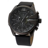 Wholesale Delivery is free of charge leisure men s watch big dial quartz analog military watches men sport watches the new