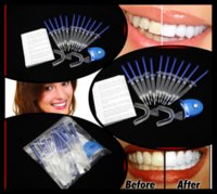 Cheap 20Packs lot 12pcs*44% Teeth Tooth Whitening Whitener Peroxide Bleaching Professional Kit White Gel MY317