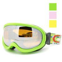 basic eyewear - Basic vitality double layer anti fog ski eyewear skiing mirror UV portect Windproof Sandproof prevent frog impact