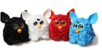 Wholesale Colours LED eyes Firby Boom Plush Toy Talking Phoebe Firbi Elves Recording Pelucia Electronic Toys Compatible with Furby