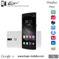 Wholesale Original Oneplus One quot Qualcomm Android GB RAM GB GB ROM FHD MP Cell Phone