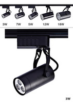 Wholesale Indoor lamp W W W W W LED Track Rail Ceiling Spot light Downlight Shop Lamp Warm Pure ceiling recessed