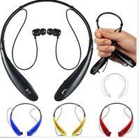 Cheap For Apple iPhone Stereo V4.0 Wireless Bluetooth earphone Best Wireless Ear Hook HBS 800 handsfree Headset
