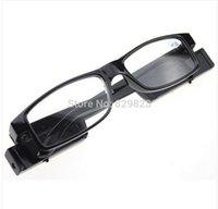Wholesale Led Reading Glasses Reading Glass with LED Light glasses power freeshipping