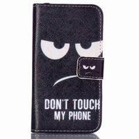 ace patterns - Owls Eiffel Tower Elephant balloon smile pattern cute Printing Flip Wallet shell case for Samsung Galaxy J1 ACE J110H