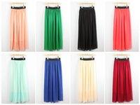 Cheap maxi skirt Best summer chiffon