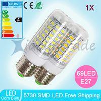 best christmas candle - Best E27 Led Lamps W LED V V W LED Lights Corn Led Bulb Christmas Chandelier Candle Lighting