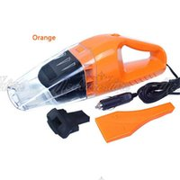 Wholesale 1 New V W Orange Portable Handheld Lightweight Mini Car Home Vacuum Cleaner Dry Wet in Cable