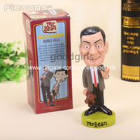 bean doll - FUNKO Mr Bean Rowan Atkinson Wacky Wobbler Bobble Head PVC Action Figure Collection Toy Doll quot CM FKFG093