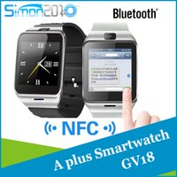Cheap A Plus Smartwatch Phone GV18 Bluetooth hands-free Wrist watches answer Sleep monitoring Aplus Smart Watch for smartphone