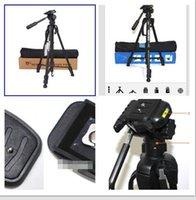 Wholesale Camera Tripod Hot Top Quality Aluminum Alloy and Black Tripod Fashion High Stability and Non slip Camera Tripod