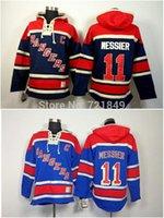 low price hoodies - 2015 Lower Price Cheap ny New York Rangers Jerseys Mark Messier Old Time Hockey Hoodies Sweatshirts Size M XL