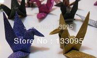 Wholesale 200PCS cm x cm Origami Paper For DIY Handmade Paper crane Mixed Color Craft Paper