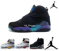 Wholesale Nike dan Retro Aqua Bugs Bunny Phoenix Playoffs Men Womens Basketball Shoes Brand New AJ8 retro VIII Sneakers J8s